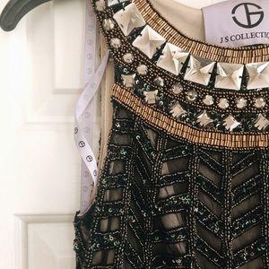 Black Beaded long dress